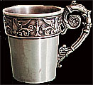 Faberge Silver Cup 1896-1908