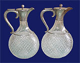 Russian Silver Carafe Bolin-Shanks Moscow 1888
