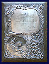 Russian Silver Imperial Document Folio 1908-1917
