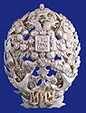 Russian Silver Gold Badge Naval Academy 1908-1917 Moscow