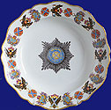 Imperial Order St. Andrew Service Plate by Gardner 1777-1780