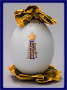 Russian Easter Egg Grand Duke Pavel Alexandrovich Imperial Porcelain Factory 1900
