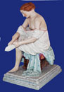 Russian Imperial Nude Erotic Gardner Porcelain Factory 19th cent.