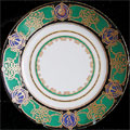 Russian Imperial Porcelain Factory Plate Yacht