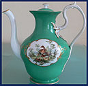 Russian Imperial Porcelain Factory Tea Pot Nicholas I (1825-1855)