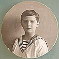 Double - Sided Photo of Alexey Son of Nicholas