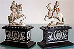 Peter I & Catherine II Ivory Figurines 18th century NOT FOR SALE