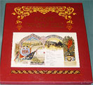 Russian Imperial Ceremonial Dinners Menu Book